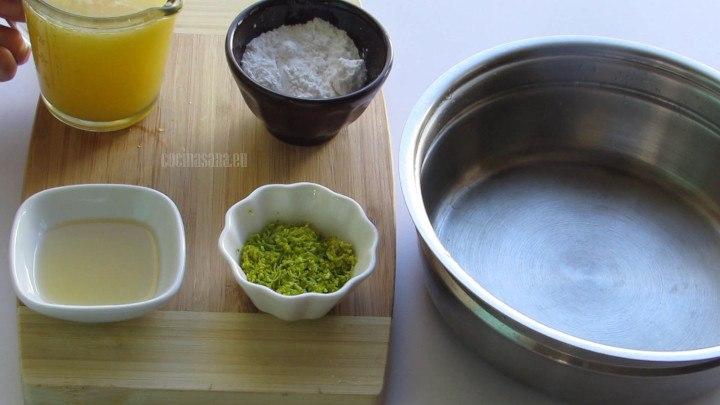 Mezclar Jugo con Azúcar Glass