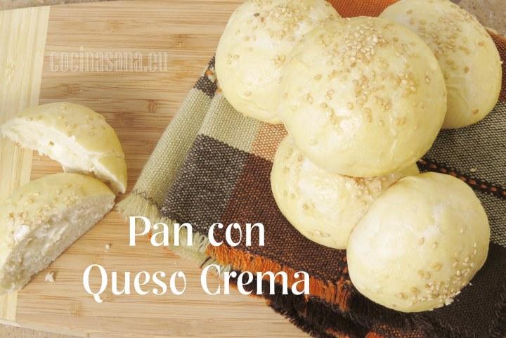Pan con Queso Crema