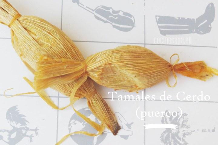Tamales de Cerdo