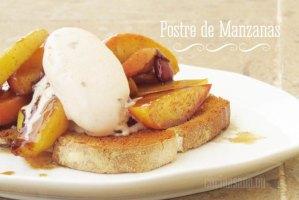 Postre de Manzana y Canela: Receta dulce muy fácil