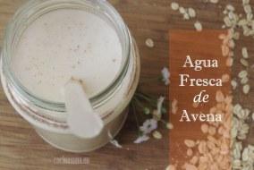 Cómo hacer Agua fresca de Avena