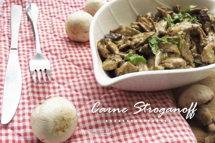 Carne Estilo Stroganoff