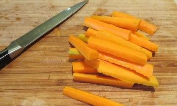 Cortar la Zanahoria