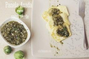 Receta de Panela Asada con Salsa Verde: fácil y deliciosa