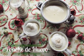 Receta Exprés para Navidad o Año Nuevo: Ponche de Huevo