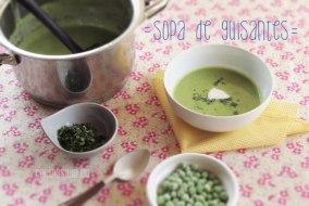 Sopa de Chicharos (Sopa de Guisantes o Arvejas)
