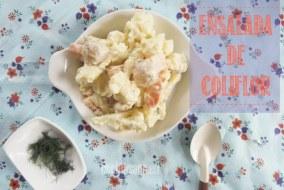 Ensalada de Coliflor y Patata con Hinojo: acompañamiento ideal