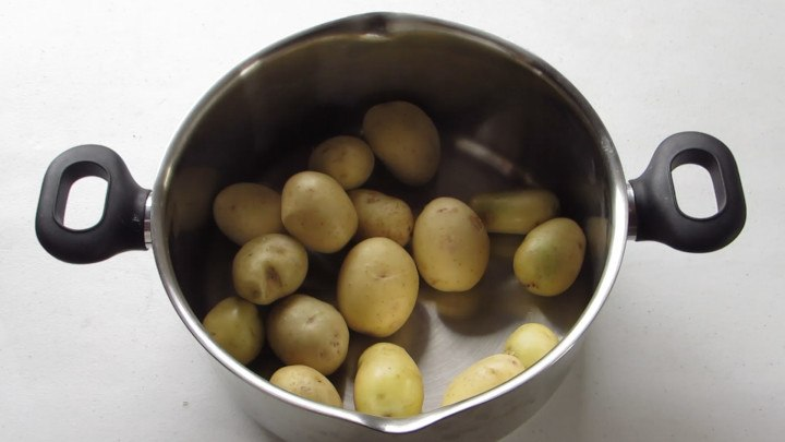 Cocer las papas