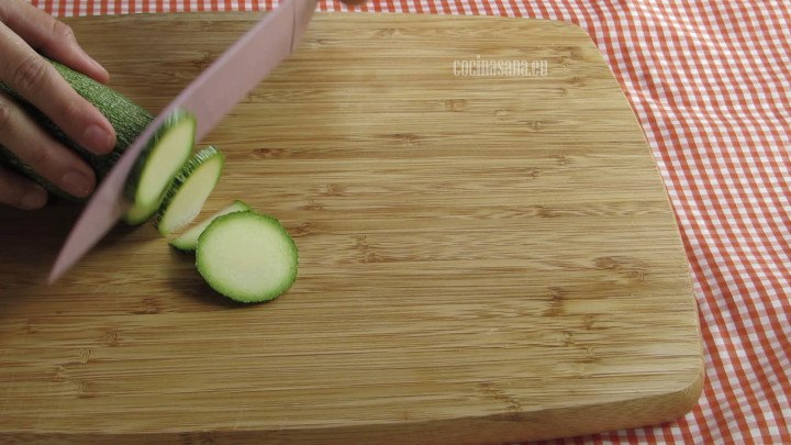 Picar vegetales
