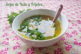 Sopa de Frijoles y Kale (Berzas): receta fácil de preparar