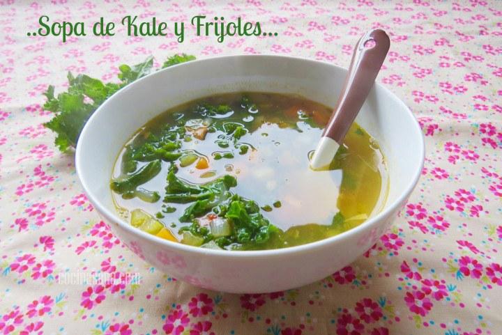 sopa de kale