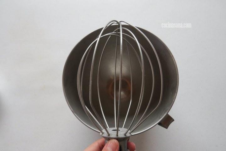 Enfriar el bowl