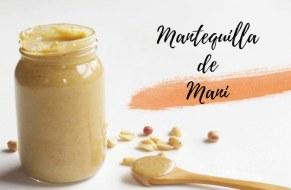 Mantequilla de Maní o Crema de Cacahuate, Casera y Fácil de hacer