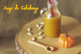 Jugo de calabaza y otras frutas: bebida sana y natural. Receta fácil