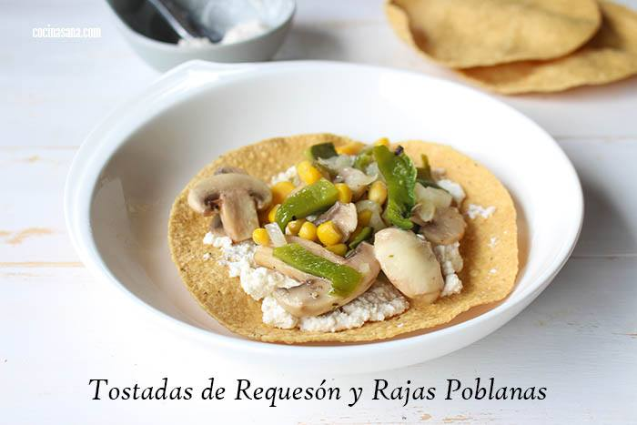 Tostadas de Requesón