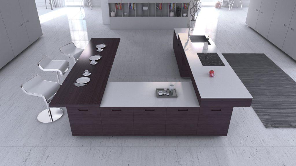 La decoracin minimalista en la cocina  Cocinas arTnova