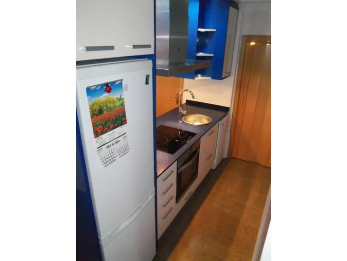 Cocina isla azul  Muebles de cocina a medida  Cocinas Franc