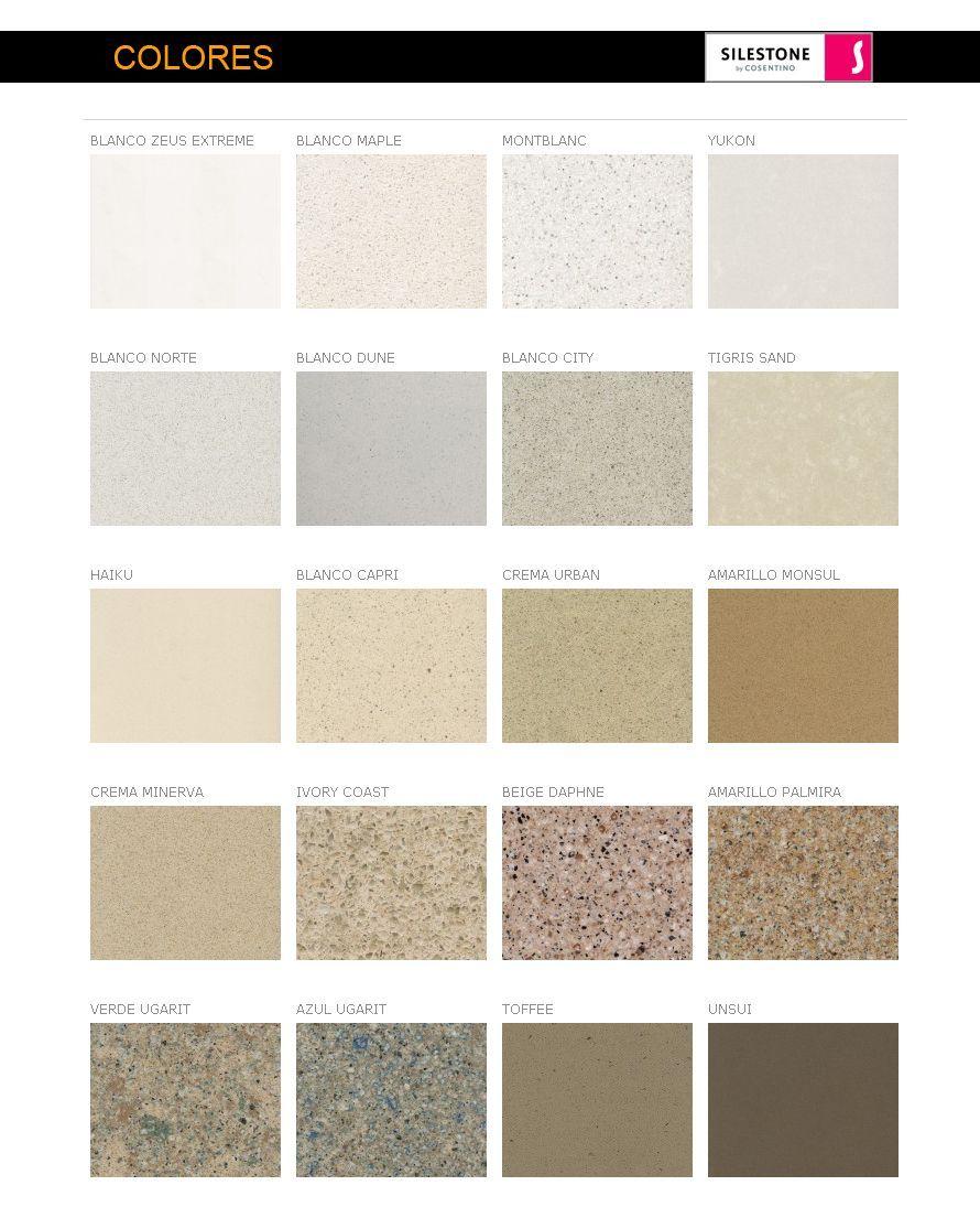Encimeras Cuarzo Colores