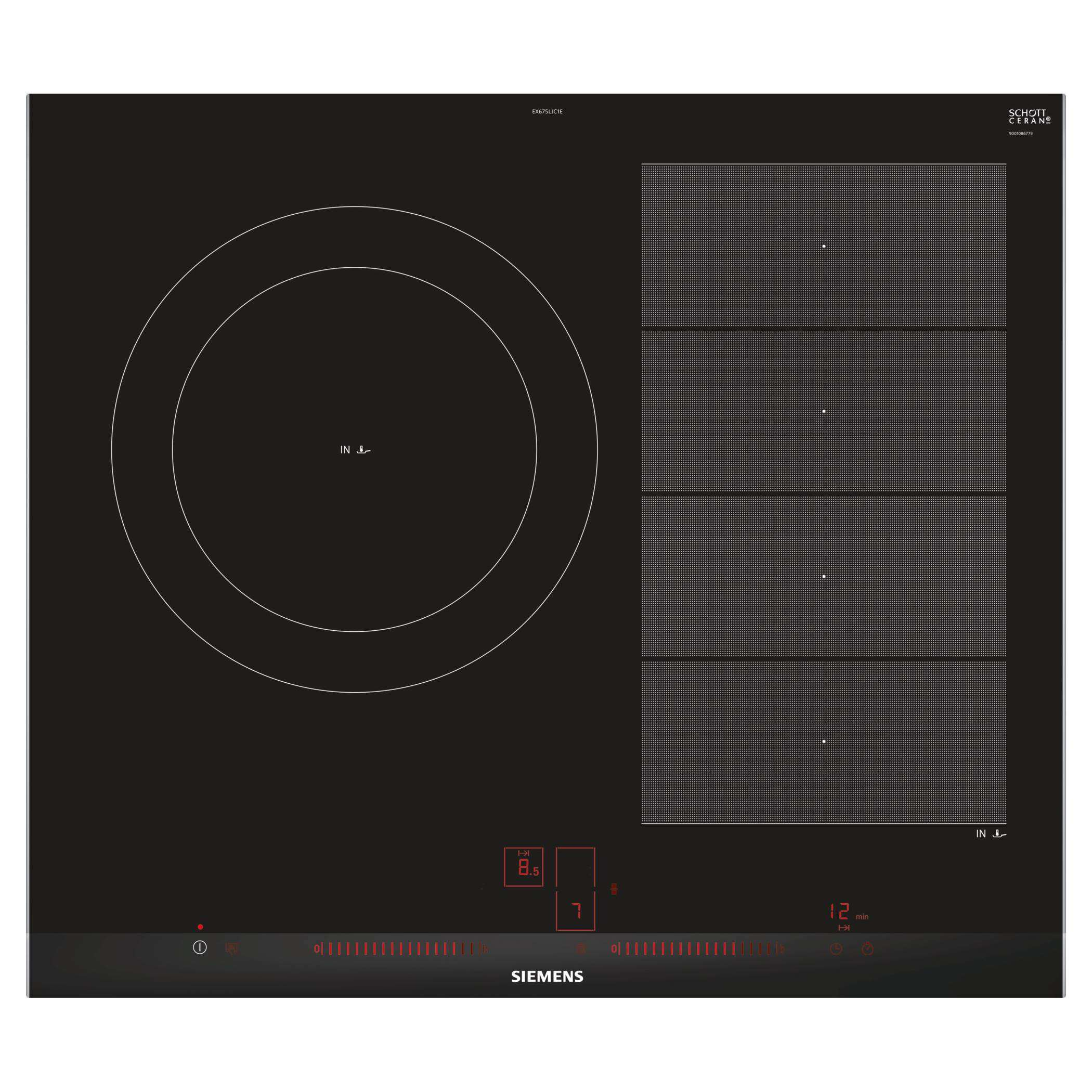 Placas induccion Siemens EX675LJC1E