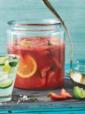 Receta de bebida de fresa y vodka