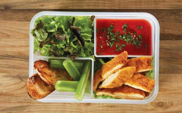 pollo-frito-con-salsa-de-jitomate