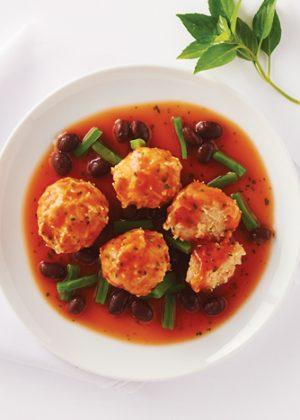 Albndigas de pollo con salsa roja  Cocina Vital  Cocina