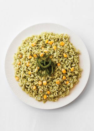arroz poblano