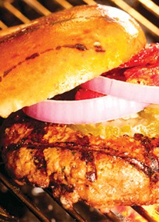 hamburguesa de carne molida
