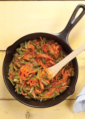 tinga de nopales y zanahorias