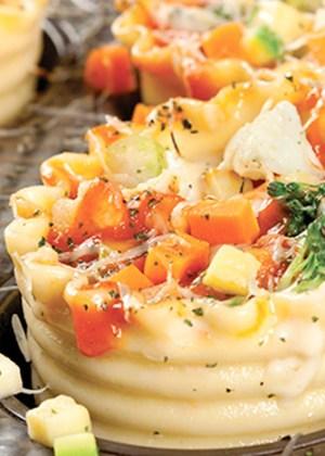 lasaña lasagna de vegetales