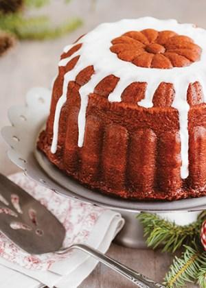 receta de rosca de velvet con glaseado