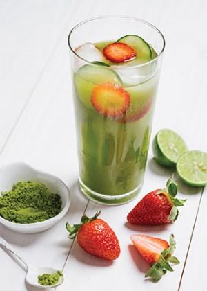 Limo iced tea-matcha