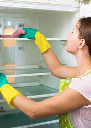 Limpia el refrigerador en 6 pasos de manera fácil y sencilla