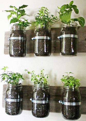 mini-huerto-cocina-jarros-mason-jars