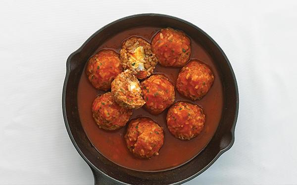 Receta mexicana de albndigas de res en salsa de tomate