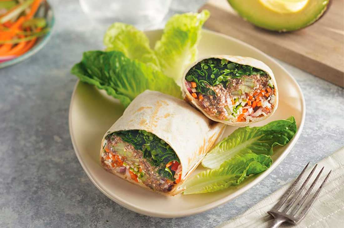 Receta de burritos de amaranto  Cocina Vital  Cocina Vital