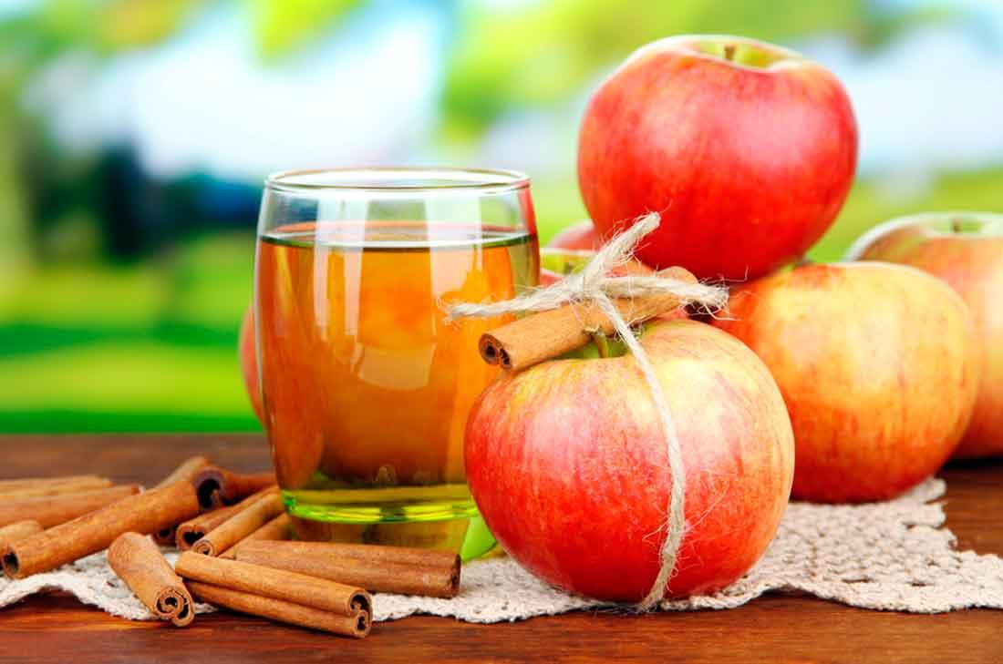 Deliciosa bebida de manzana y canela para bajar de peso  Cocina Vital