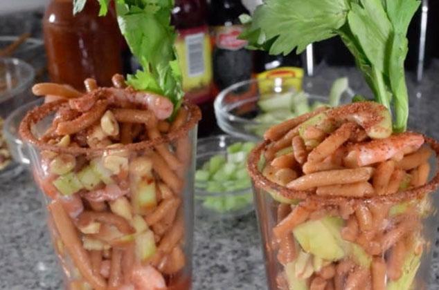 Cevichurros o churros locos  Receta  Cocina Vital