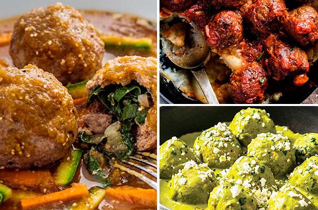 19 variadas recetas de albndigas para la comida del da
