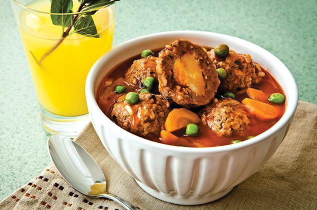 Cmo preparar Albndigas de carne molida y arroz  Cocina