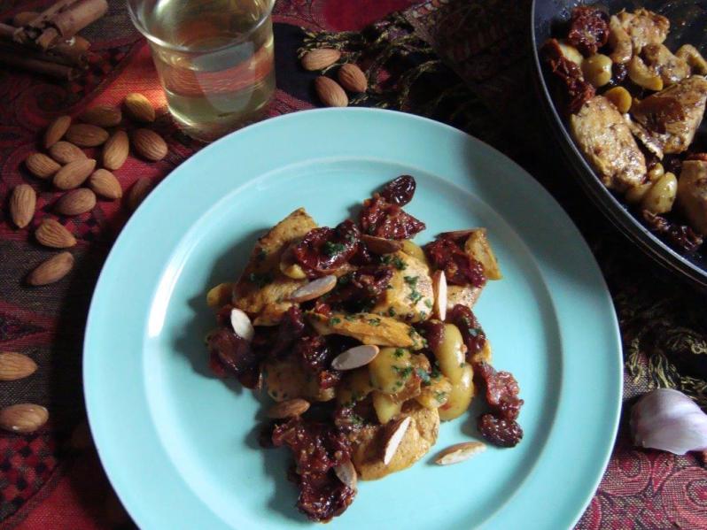 Pollo Mediterráneo con Especias