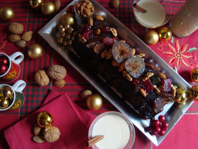 Budín de Navidad y Rompón