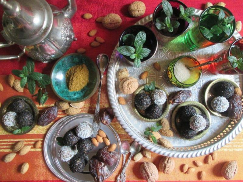 De Marruecos: té de menta y bombones especiados!