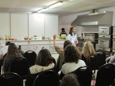 cocinayletras en la feria gastronómica Espacio Gourmet Pilar domingo 26 de julio
