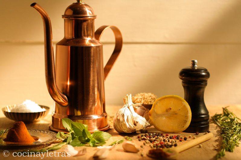 Aceites perfumados para cocinar