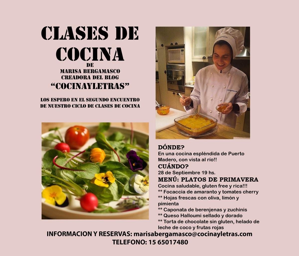 Clases De Cocina   Ciclo De Clases De Cocina Clase Del 28 De Septiembre