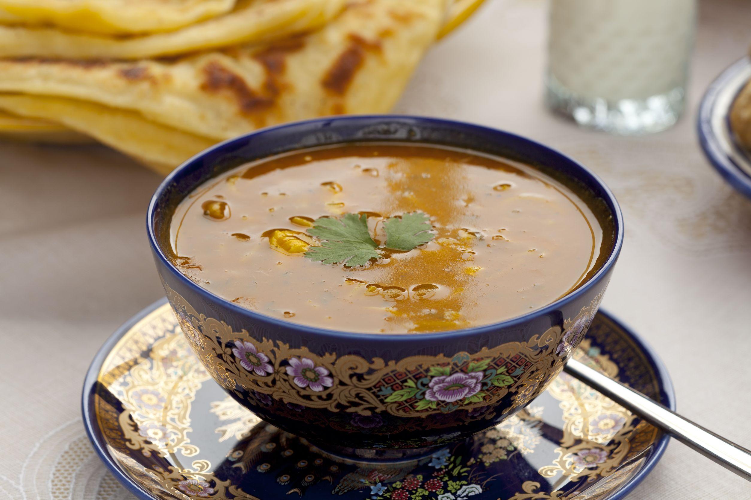 Harira la tradicional sopa marroqu  Cocina y Vino