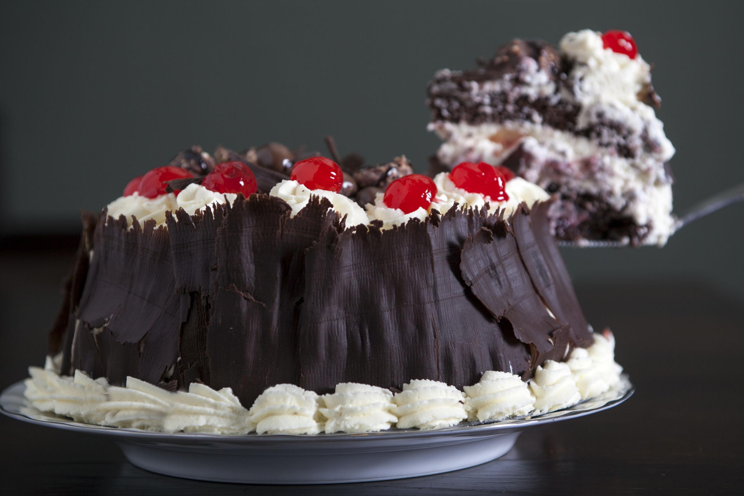 Tentadora torta Selva Negra  Cocina y Vino
