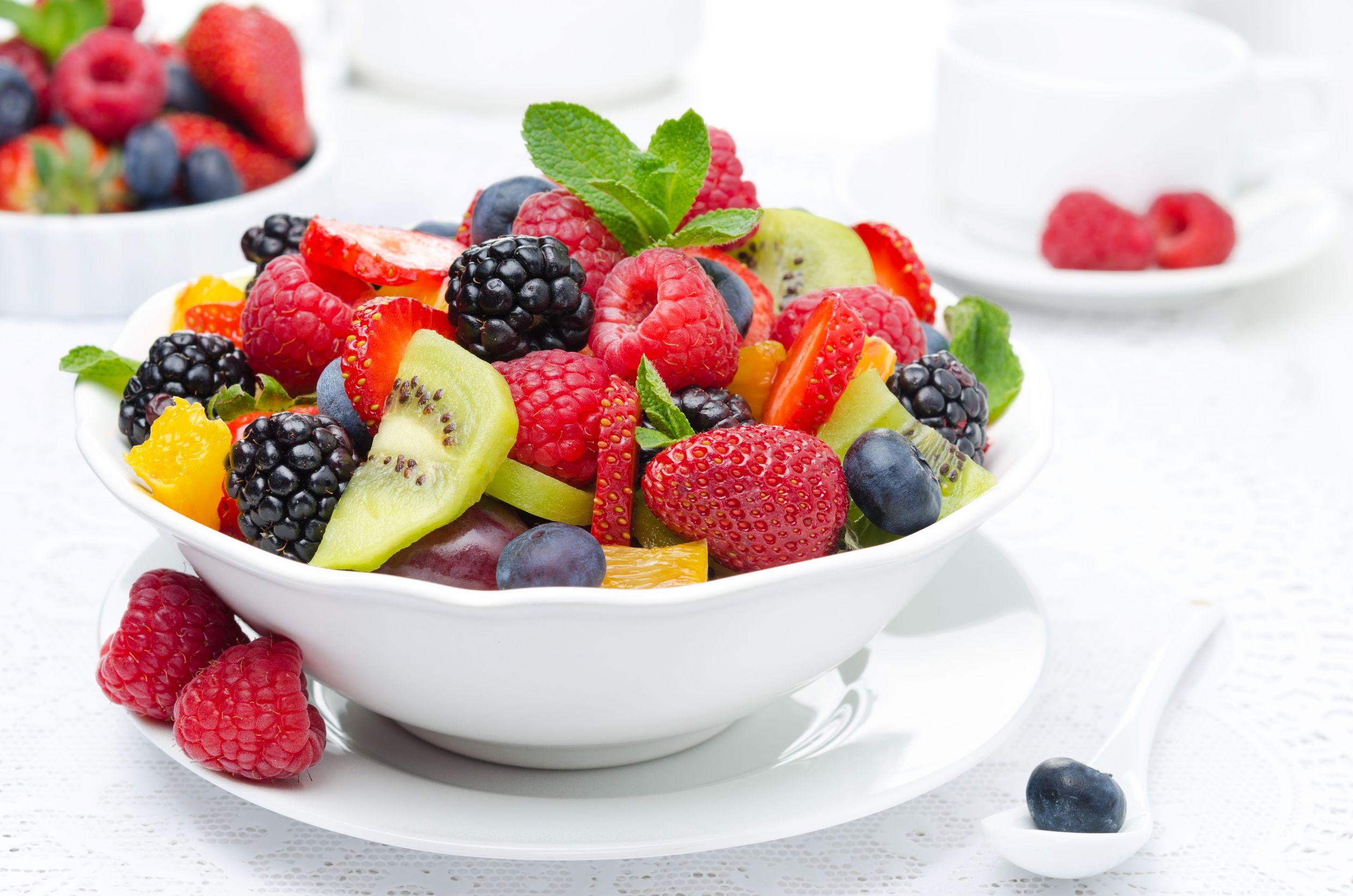 Ensalada de frutas un festn de colores  Cocina y Vino