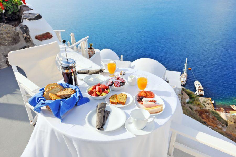 Un desayuno en Grecia  Cocina y Vino